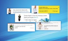 پاپ آپ آخرین فروش ها - نمایش محصولات از آخرین سفارشات