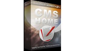 ماژول رایگان CMS در صفحه اصلی