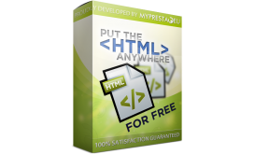 ماژول رایگان جعبهی HTML