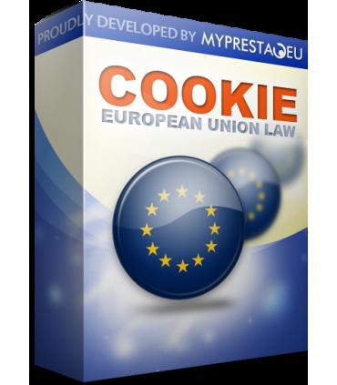 ماژول رایگان قوانین کوکی اتحادیه اروپا