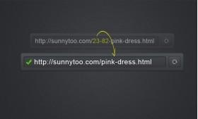 ماژول پرستاشاپ حذف شناسه از آدرس صفحه
