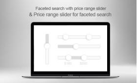 ماژول پرستاشاپ اسلایدر محدوده قیمت برای جستجوی لایه ای