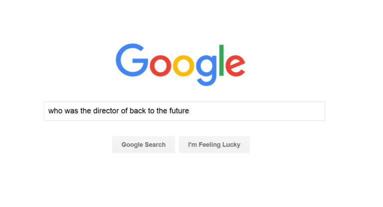 جستجوی گوگل برای همینگبرد