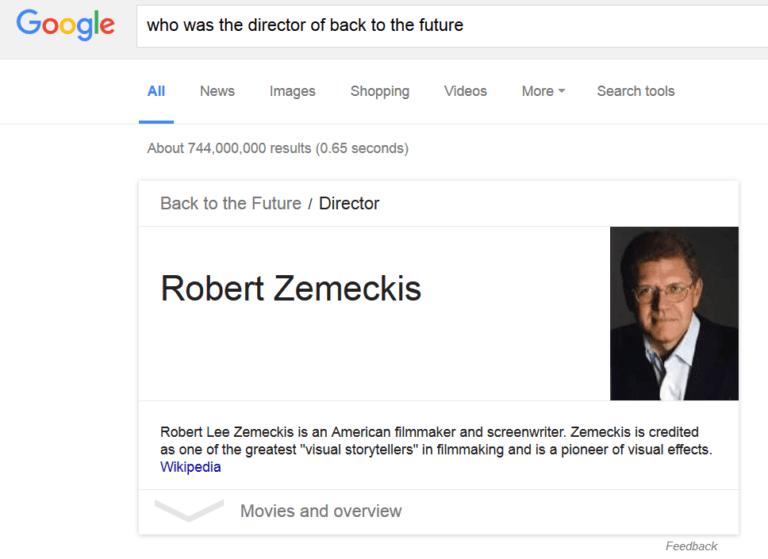 گراف دانش گوگل